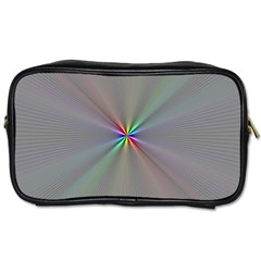 Square Rainbow Toiletries Bags 2 Side by Nexatart
