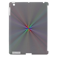 Square Rainbow Apple Ipad 3/4 Hardshell Case (compatible With Smart Cover) by Nexatart