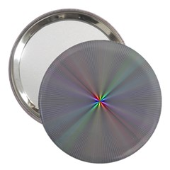 Square Rainbow 3  Handbag Mirrors