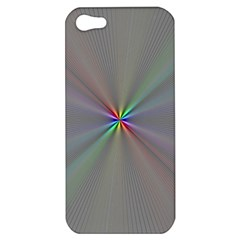 Square Rainbow Apple Iphone 5 Hardshell Case