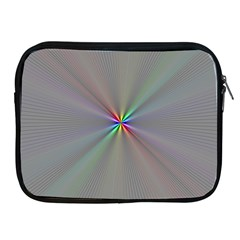 Square Rainbow Apple Ipad 2/3/4 Zipper Cases