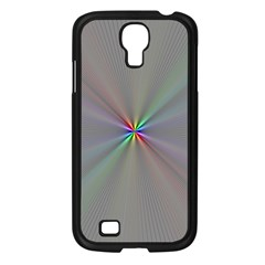 Square Rainbow Samsung Galaxy S4 I9500/ I9505 Case (black) by Nexatart