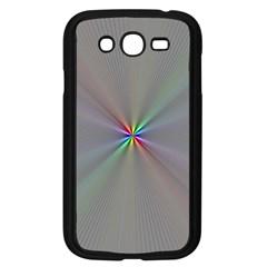 Square Rainbow Samsung Galaxy Grand Duos I9082 Case (black) by Nexatart
