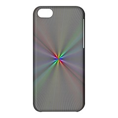 Square Rainbow Apple Iphone 5c Hardshell Case by Nexatart
