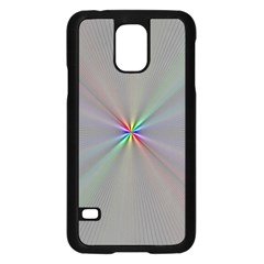Square Rainbow Samsung Galaxy S5 Case (black)