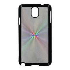 Square Rainbow Samsung Galaxy Note 3 Neo Hardshell Case (black)