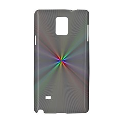 Square Rainbow Samsung Galaxy Note 4 Hardshell Case by Nexatart