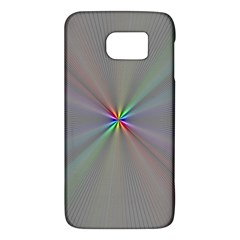 Square Rainbow Galaxy S6 by Nexatart