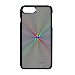 Square Rainbow Apple Iphone 7 Plus Seamless Case (black)