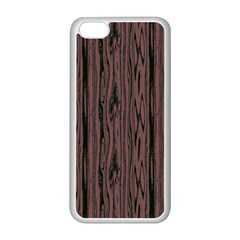 Grain Woody Texture Seamless Pattern Apple Iphone 5c Seamless Case (white) by Nexatart