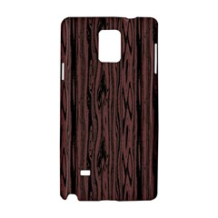 Grain Woody Texture Seamless Pattern Samsung Galaxy Note 4 Hardshell Case