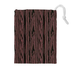 Grain Woody Texture Seamless Pattern Drawstring Pouches (extra Large)