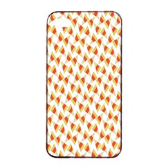 Candy Corn Seamless Pattern Apple Iphone 4/4s Seamless Case (black) by Nexatart