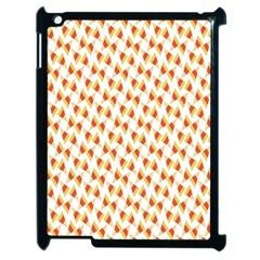 Candy Corn Seamless Pattern Apple Ipad 2 Case (black) by Nexatart