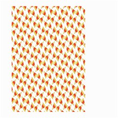 Candy Corn Seamless Pattern Small Garden Flag (two Sides) by Nexatart
