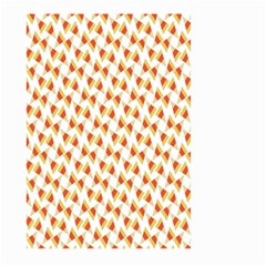 Candy Corn Seamless Pattern Large Garden Flag (two Sides) by Nexatart