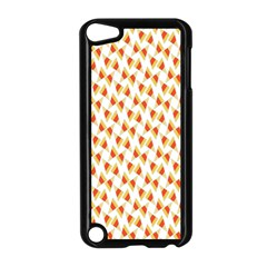 Candy Corn Seamless Pattern Apple Ipod Touch 5 Case (black)