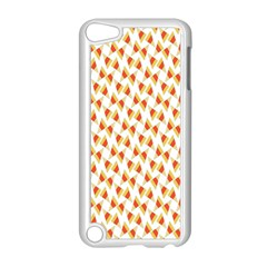 Candy Corn Seamless Pattern Apple Ipod Touch 5 Case (white) by Nexatart