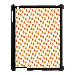 Candy Corn Seamless Pattern Apple Ipad 3/4 Case (black) by Nexatart
