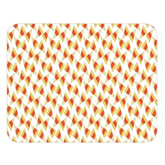 Candy Corn Seamless Pattern Double Sided Flano Blanket (large)