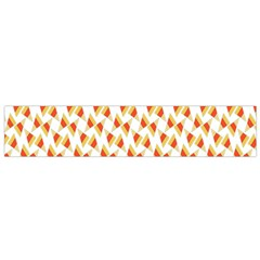 Candy Corn Seamless Pattern Flano Scarf (small)