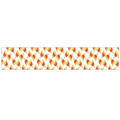 Candy Corn Seamless Pattern Flano Scarf (large)