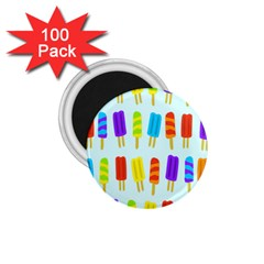 Popsicle Pattern 1 75  Magnets (100 Pack)  by Nexatart