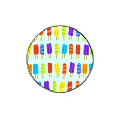 Popsicle Pattern Hat Clip Ball Marker (10 Pack) by Nexatart