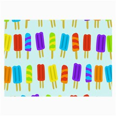 Popsicle Pattern Large Glasses Cloth (2 Side)