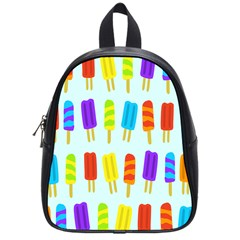 Popsicle Pattern School Bags (small)  by Nexatart