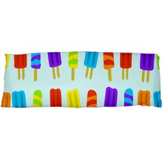 Popsicle Pattern Body Pillow Case (dakimakura)