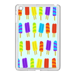 Popsicle Pattern Apple Ipad Mini Case (white) by Nexatart