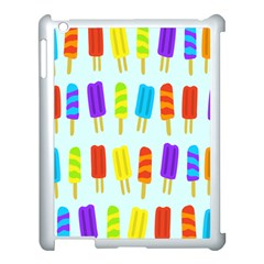 Popsicle Pattern Apple Ipad 3/4 Case (white)