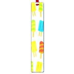 Popsicle Pattern Large Book Marks by Nexatart