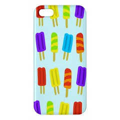 Popsicle Pattern Apple Iphone 5 Premium Hardshell Case by Nexatart