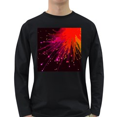 Big Bang Long Sleeve Dark T Shirts by ValentinaDesign