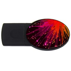 Big Bang Usb Flash Drive Oval (4 Gb) by ValentinaDesign