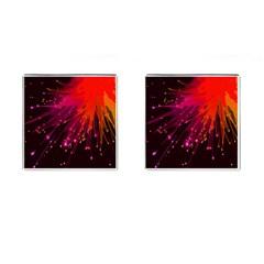 Big Bang Cufflinks (square) by ValentinaDesign