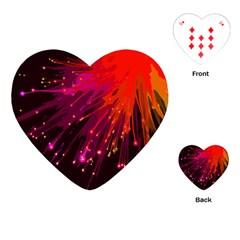 Big Bang Playing Cards (heart)  by ValentinaDesign