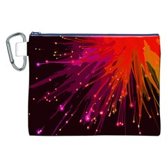 Big Bang Canvas Cosmetic Bag (xxl) by ValentinaDesign