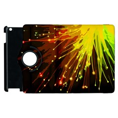 Big Bang Apple Ipad 2 Flip 360 Case by ValentinaDesign