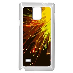 Big Bang Samsung Galaxy Note 4 Case (white) by ValentinaDesign