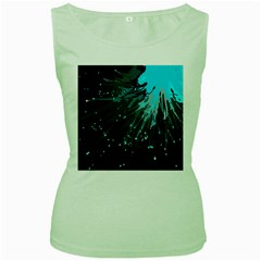 Big Bang Women s Green Tank Top by ValentinaDesign
