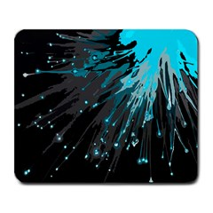 Big Bang Large Mousepads by ValentinaDesign