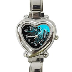 Big Bang Heart Italian Charm Watch by ValentinaDesign