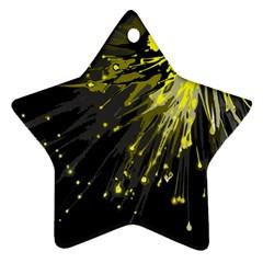 Big Bang Ornament (star) by ValentinaDesign