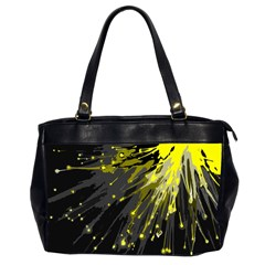 Big Bang Office Handbags (2 Sides)  by ValentinaDesign