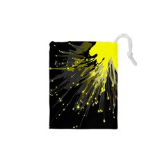 Big Bang Drawstring Pouches (xs)  by ValentinaDesign
