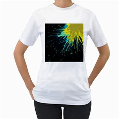 Big Bang Women s T Shirt (white)  by ValentinaDesign