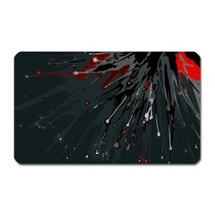 Big Bang Magnet (rectangular) by ValentinaDesign